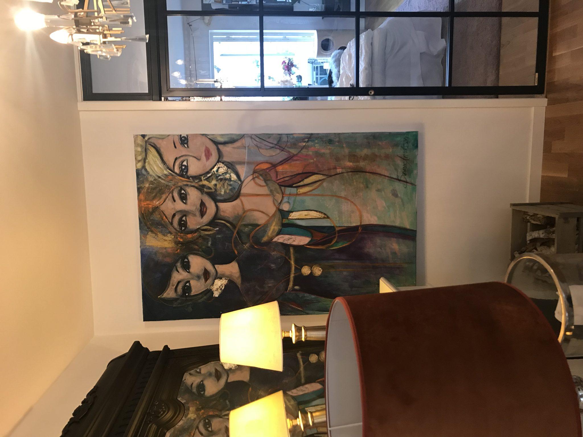 Konst till salu - Fredag- min dag i ateljén