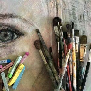 Lär dig måla tavlor – med studiegrupp