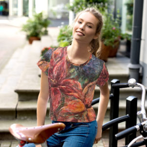 Feminin top – Flower Autumn