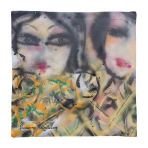 Kuddfodral – Friends 45×45 cm