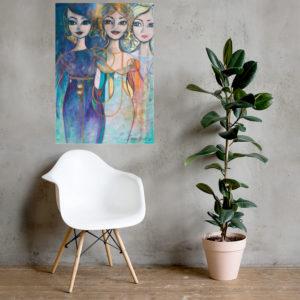 Poster – Femme Elegance