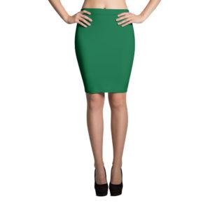 Köp Klassisk Smaragdgrön Pennkjol