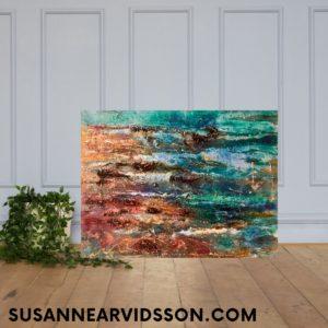 Köp stor Oljemålning – Waves SÅLD