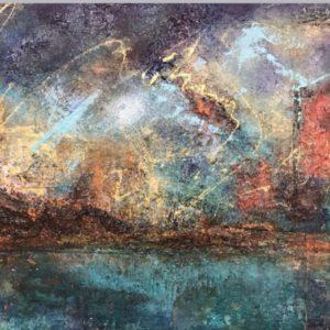 Köp Oljemålning  –  Golden  light såld