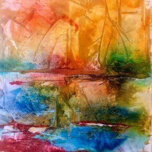 Oljemålning – I hamn SÅLD