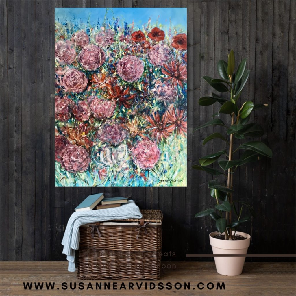 Målning av Susanne Arvidsson