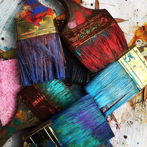 Kom i gång att måla egna tavlor