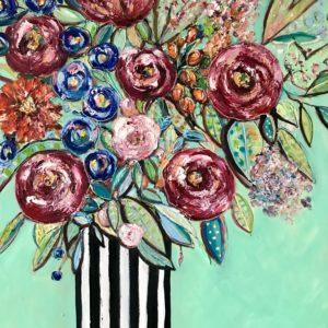 Stilleben – Blommor i vas