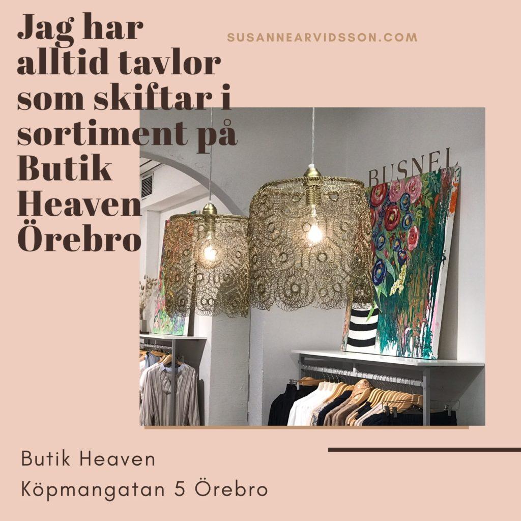 Utställning av Susanne Arvidsson