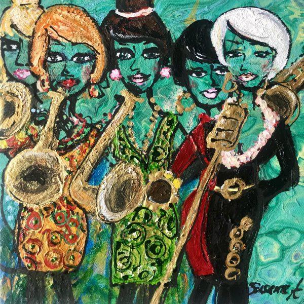 Konst - The singing ladies