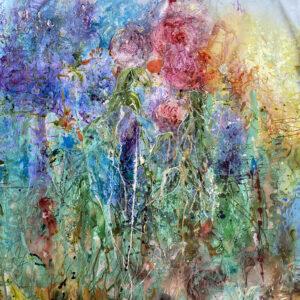Stor målning – In my garden