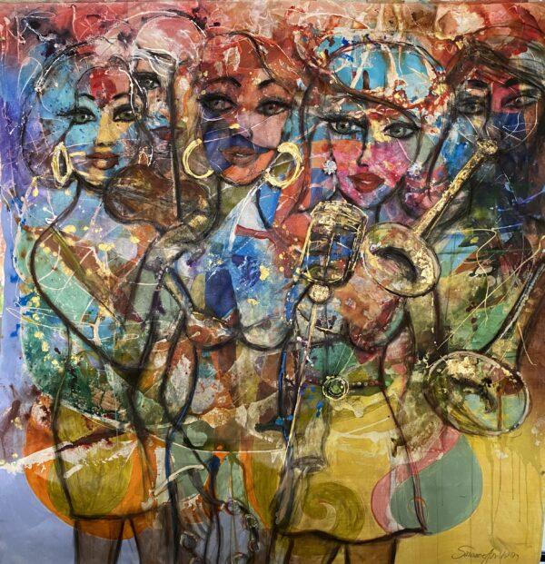 Lär dig måla tavlor - utan studiegrupp