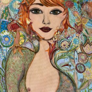 Köp Tavla – Flowerwoman SÅLD