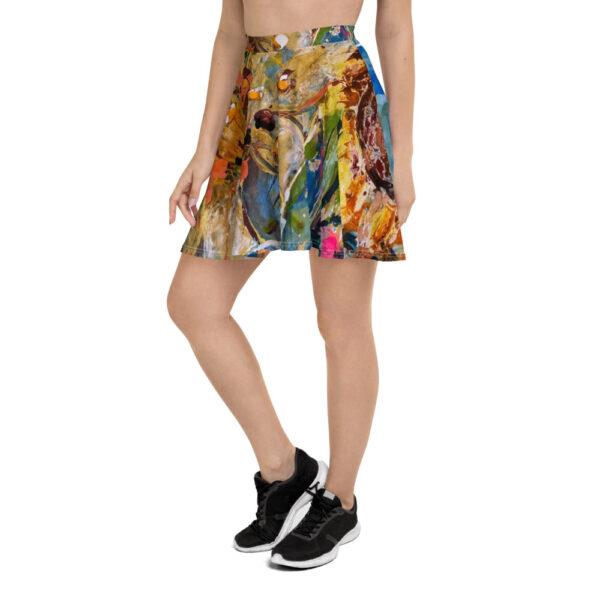 Klockad kjol i många storlekar