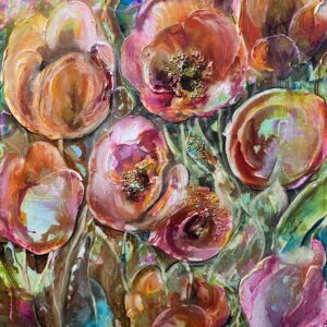 Köp färgglad konst – Tulips