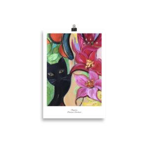 Köp Konsttryck för kattälskare