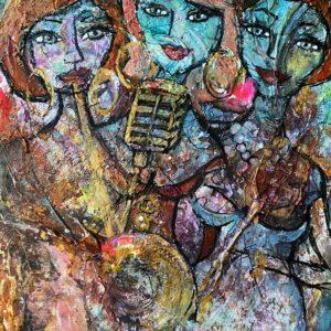 Köp konst här – Sisters Bluesband