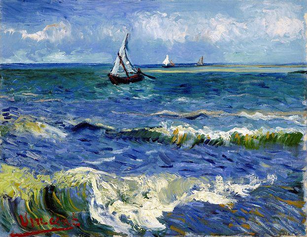 Målar kurs för äldre barn och ungdomar - Van Gogh