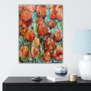 Köp tavla – Orange and Red