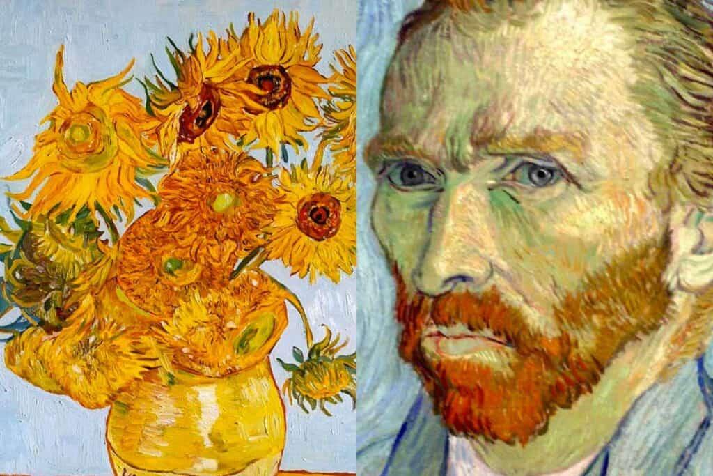 Målar kurs alla åldrar- van Gogh