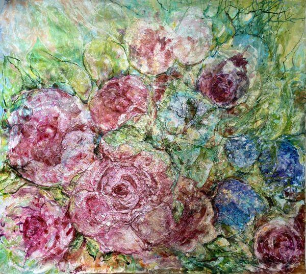 Stort sortiment av konst - Roses