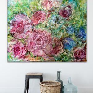 Stort sortiment av konst – Roses