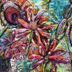 Inred med tavlor – Blomsterfägring