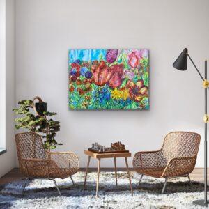 Massor av konst  här – Vårkänsla