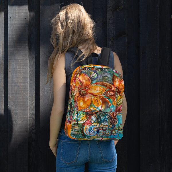 Snygg och färgglad ryggsäck